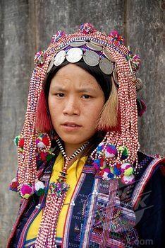 photo des femmes de TaI Dam Laos2